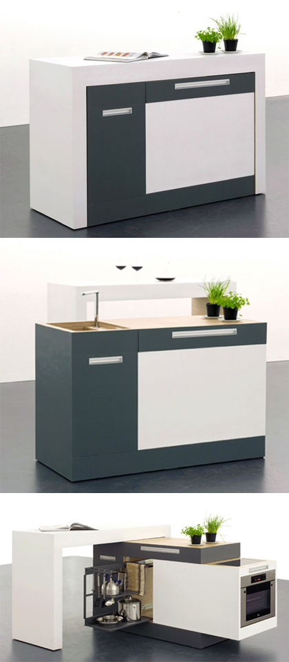 Awesome Compact kitchen