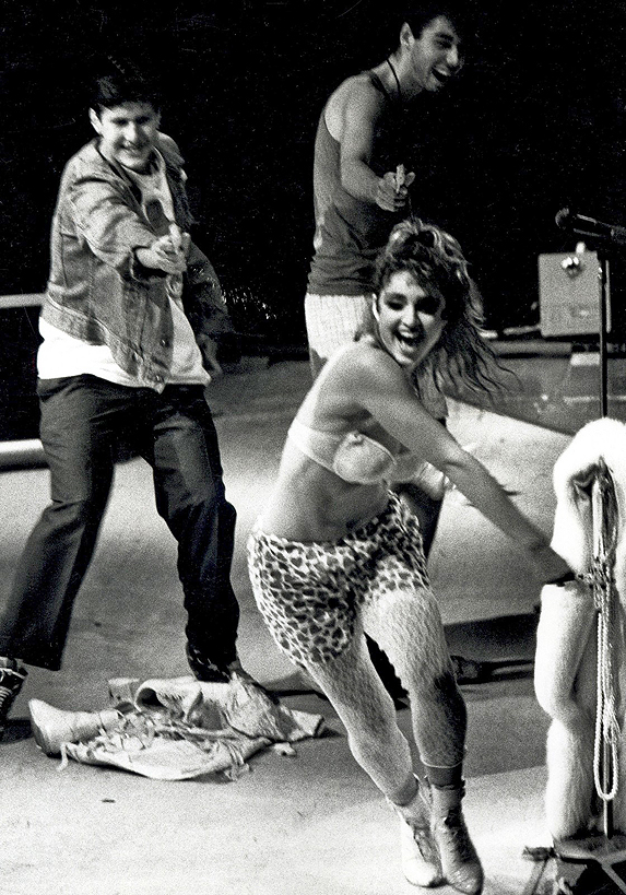 Final night of The Virgin Tour 1985 - Madonna & Beastie Boys