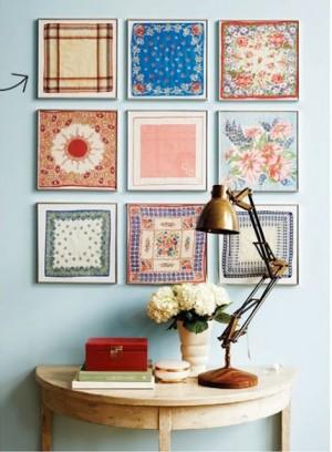 Framed colorful patterns