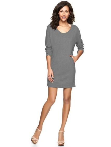 GAP - Terry sweatshirt dress