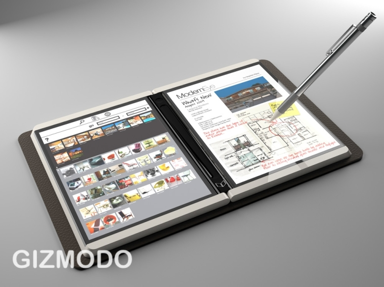 microsoft double tablet 2009