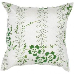 Pure Home - Anjo Palm Green Throw Pillow