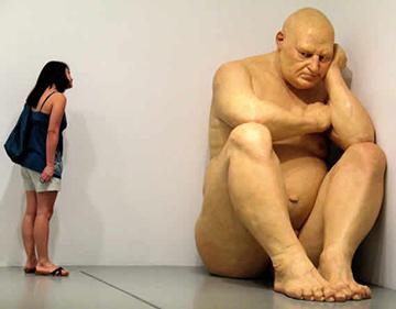 Ron Mueck - The Big Man