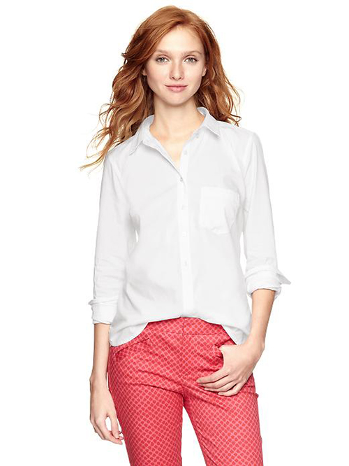 Gap Tailored White Shirt