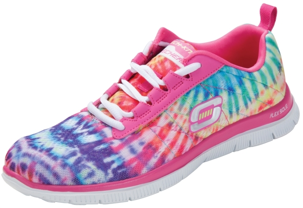 Nursing+Shoes+-+Skechers+Skech-Knit+Limited+Edition+Hot+Pink+Multi+Shoe_L